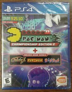 Pac-Man Championship Edition 2 + Arcade Game Series (PlayStation 4, 2016) Y-fold
