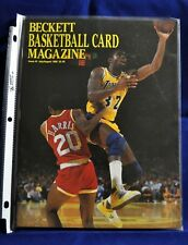 Beckett Basketball Card Magazine #3 July/August 1990 Magic Johnson Kevin Johnson