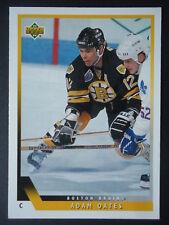 NHL 327 Adam Oates Boston Bruins Upper Deck 1993/94