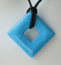 Gefärbte-Halsketten & Anhänger mit Bewusstseins echten Edelsteinen für Damen