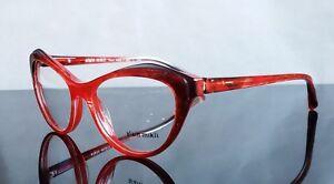 Alain Mikli A03061 Eye glasses  F0003 Red Marbel size 54 new
