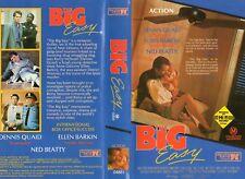 THE BIG EASY - Dennis Quaid -VHS -PAL -NEW - Never played! - Original Oz release