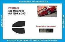 window tint glass Ferrari 550 Maranello from 1996-2001 set front