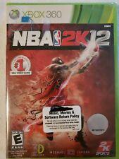 NBA 2K12 (Microsoft Xbox 360, 2011) BRAND NEW SEALED