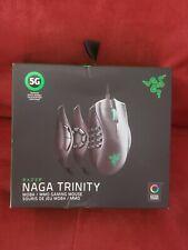 Razer Naga Trinity 16000 DPI Optical Gaming Mouse - Black