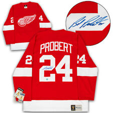 Bob Probert Detroit Red Wings Signed Fanatics® Vintage Replica Hockey Jersey 0267d89ca
