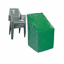 Durable Waterproof Green Garden Stacking Patio Chair Protection Cover