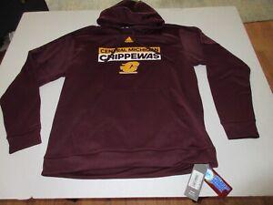 Adidas Central Michigan Sweatshirt Sizes XL 2XL MSRP $75.00  **NEW**