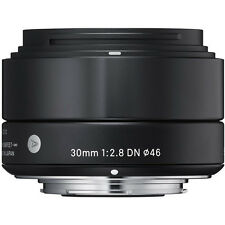 SIGMA 30mm f/2.8 ART DN Lens Micro 4/3 's +4 YEAR WARRANTY Olympus Panasonic OMd