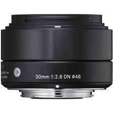 SIGMA 30mm f/2.8 ART DN Lens Micro 4/3 's +4 YEAR WARRANTY Olympus Panasonic OMd