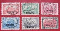 Germany Poland Danzig 1920 Mi # 8,9,11,12,13,15 СV 229 EURO Very Fine Used