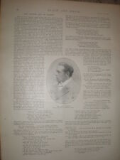 Photo article Owen Seaman and the art of parody 1897 my ref L