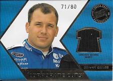 2008 Press Pass Speedway Corporate Cuts #RN Ryan Newman Shirt Relic #71/80