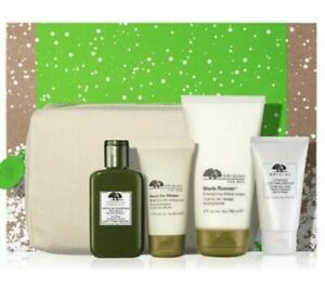 ORIGINS  Men's Skin Musts BESTSellers Skincare Gift Set (5 Pc ) New in box  $99