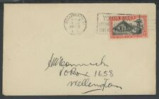 New Zealand, Fdc, #239, 1940