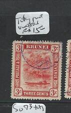 BRUNEI (PP1701B)  $3C  CANCEL TUTONG  VFU