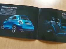 1637) brochure 2016 Prospekt Fiat 500 S Italia Blau / Twinair Turbo Multijet