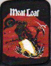 MEAT LOAF VINTAGE PRINTED PATCH HEAVY METAL BIKER ROCK