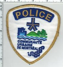 Communaute Urbaine De Montreal Police (Canada) Shoulder Patch from the 1980's