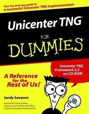 NEW - Unicenter TNG For Dummies by Sampson, Sandy; Pazol, Steve