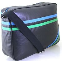 Uni College Laptop Bag Messenger Briefcase Business Office Cabin Travel Case BK