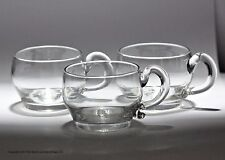 Set of three Georgian punch cups