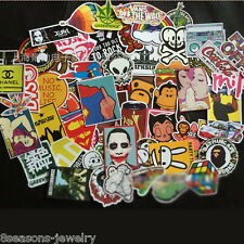 500pcs /lot Sticker Bomb Decal Vinyl Roll Car Skate Skateboard Laptop Luggage CD