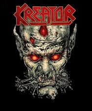 KREATOR cd lgo ZOMBIE DINNER Official SHIRT SMALL New violent mind