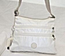 1d50444fb59f KIPLING WHITE CROSS BODY OR SHOULDER BAG WITH JASPER THE DANGLING MONKEY