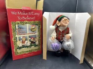 NEW ZIMS THE ELVES THEMSELVES HEIRLOOM COLLECTIBLES 1999 LEONARDO E99-0009