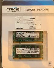 Crucial PC2-5300 2GB SO-DIMM 667 MHz DDR2 SDRAM Memory (CT2G2S667M)