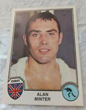 Alan Minter Gbr  Panini Eurofootball 1982 Sport Superstars  75 new Mint rookie