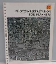 Kodak Photointerpretation for Planners M-81 1972 1504992 Booklet - B121