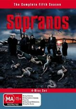 *NEW & SEALED* The Sopranos : Season 5 (DVD, 2005, 4-Disc Set) REGION 4 AUS
