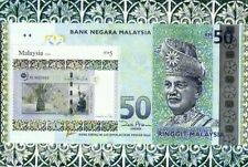 Malaysia Currency 2010 Money Banknote (ms) MNH *silver foil *unusual