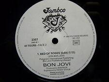 "MAXI 12"" BON JOVI Bed of roses ( 5'05 / 6'34 ) PROMO JAMBCO 2307"