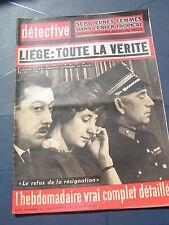 Détective 1962 855 BRIOUDE NOORDPEENE MONTALIEU VERCIEU FOUGèRES SAINT ETIENNE