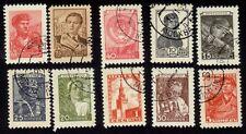 USSR-SOVIET RUSSIA 10v CTO small lot @RM486(50)