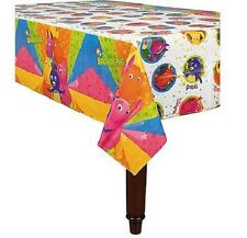 "BACKYARDIGANS ~1- PLASTIC TABLECOVER   54"" X 96"" , BIRTHDAY-CHILD   PARTY"