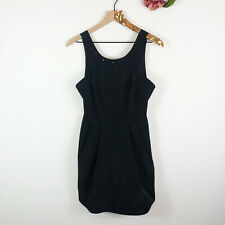 BCBGENERATION Women's A-Line Dress Black Studded Sleeveless Black Size 4