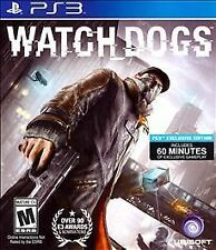 Watch Dogs - Sony Playstation 3 PS3 video game COMPLETE CIB