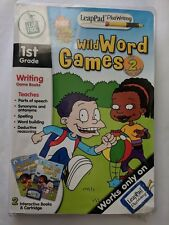 Leap Pad Plus Writing Nick All Grown Up Wild Word Games 1st Grade NEW! GM1427