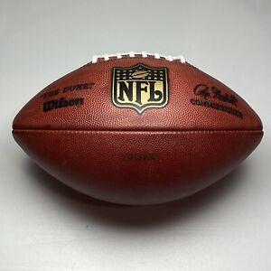 Detroit Lions Game Used vs Chicago Bears 12/24/06 Wilson Duke NFL Football