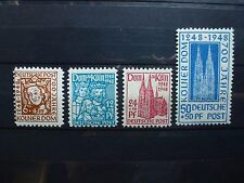 Germany, Allierte besetzung, 1948, 69/72, **MNH