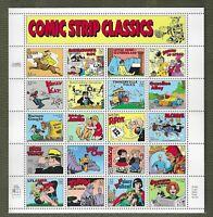 US #3000 COMIC STRIP CLASSICS  SHEET 20  MINT / NH-OG / VF ,C.V $13.50