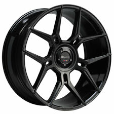 "24"" Giovanna Haleb Black 24x10 Directional Concave Wheels Rims Fits Ford F-150"