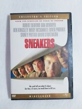 SNEAKERS (DVD) (COLLECTORS EDITION) New & Factory Sealed!