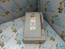 SIEMENS I-T-E NF352 TYPE 1 60 A 600 VAC 3 PHASE 30 HP HEAVY DUTY ENCLOSED SWITCH