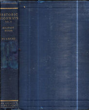 1905 1ST HISTORIC HIGHWAYS MILITARY ROADS WITH 5 FOLDING MAPS LEWIS & CLARK MAPS