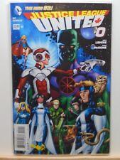 Justice League United #0 the new 52 D.C. Universe Comics  CB4798